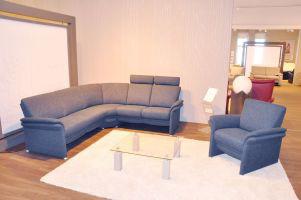 Sofa von Arco – Modell Graz – in blau