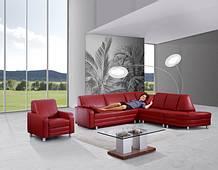 Sofa von Sedda – Modell Presso – in rot