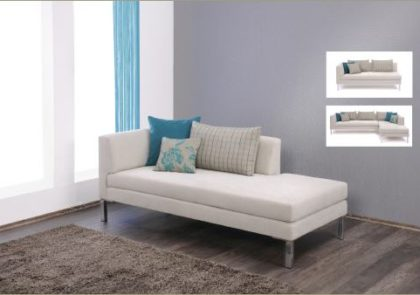 Schlafliege von Gehlen-Modell Roth – in weiß