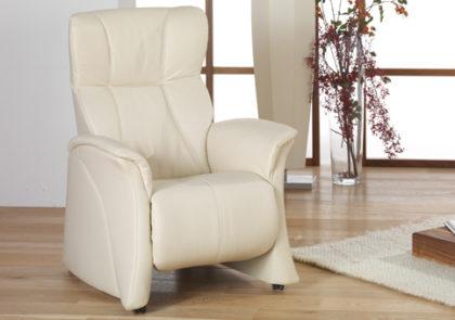 Cumuly-Sessel von Himolla-Modell 7763- in Leder rahm