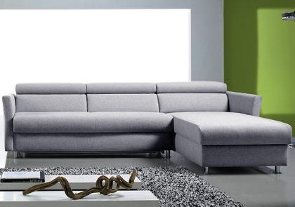 Sofa von Bali – Modell Sabrina – in Grau