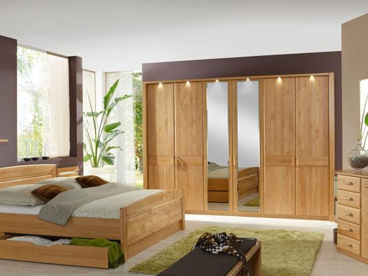 products csm 01 schlafzimmer klassisch lausanne erle teilmassiv parsol bronze spiegel b2d47851bf Möbelhaus Dresden - Möbel Röthing