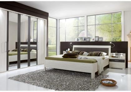 Schlafzimmer von Wiemann-Lissabon LS 1180-Polar Lärche Nachbildung