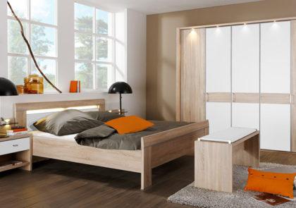 Schlafzimmer von Wiemann-Donna LS 1270- Eiche sägerau Nachbildung
