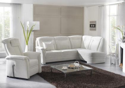 Sofa von Dietsch – Modell Bremen – in weiss