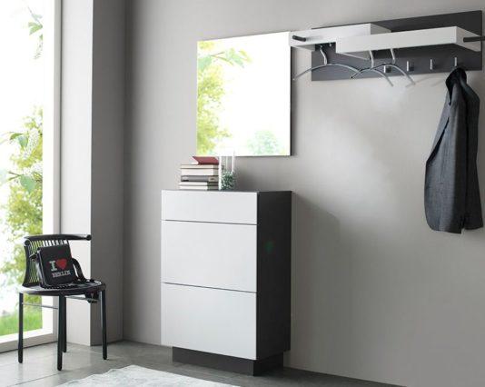 products garderobe nexus sudbrock  glattlack grau quarz 800 Möbelhaus Dresden - Möbel Röthing