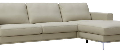 Sofa von Global – Modell Oviedo – in Leder creme