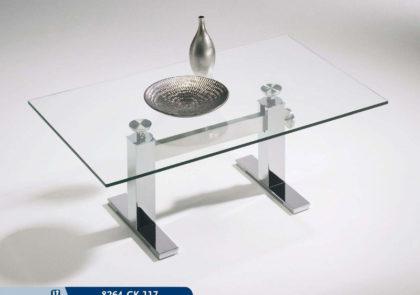 Couchtisch von Hasse – Modell 8264 CK-117 – in Klarglas