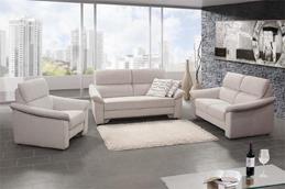 Sofa von Oelsa – Modell Jalta – in hellgrau
