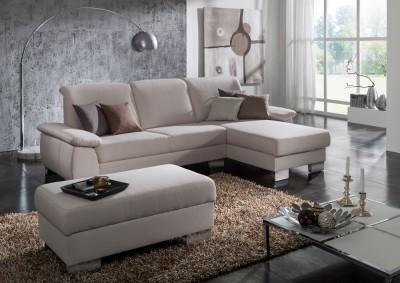 Sofa von Posa – Modell Lucca – in beige