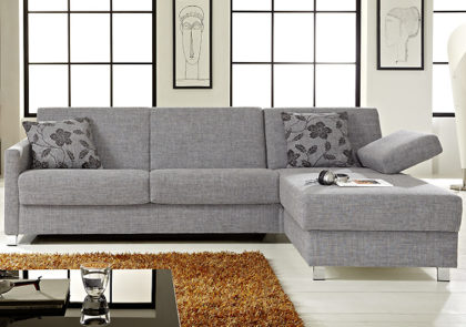 Sofa von Bali – Modell Messina – in Grau