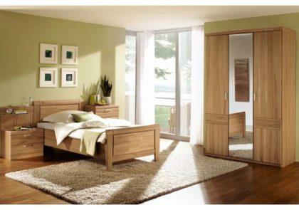 Schlafzimmer von Steffen – Modell Nova – in Kernbuche teilmassiv