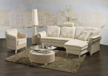 Sofa von PM Oelsa-Rabenau – Modell Toscana – in creme