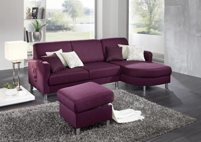Sofa von Posa – Modell Ohio – in Purple