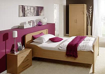 Schlafzimmer von Priess – Komfortmodell in Buche NB