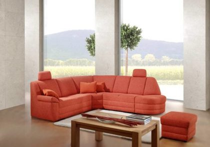 Sofa von Sedda – Modell Prisma – in orange