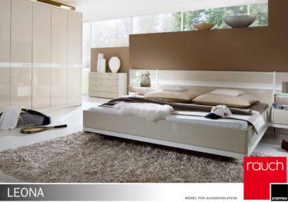 Schlafzimmer von Steffen – Modell Leona Plus in Hochglanz