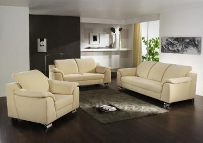 Sofa von Posa – Modell Sydney – in creme