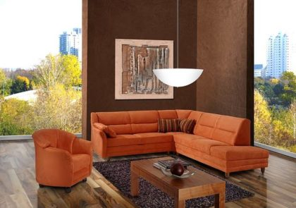 Sofa von Sedda – Modell Team – in orange