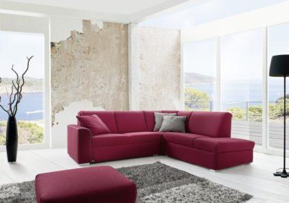 Sofa von Sedda – Modell Triumph – in rot