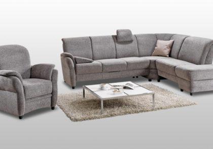 Sofa von Arco – Modell Valetta 3150 – in grau