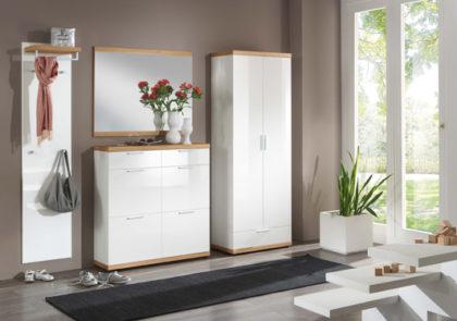 Garderobe von Voss-Modell Burgos- Lack Hochglanz