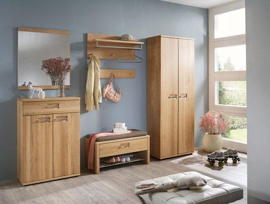 products voss garderobenm bel modell montana wildeiche teilmassiv Möbelhaus Dresden - Möbel Röthing