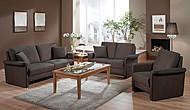 Sofa von Wemafa – Modell Lux Medico 136 – in Stoff braun