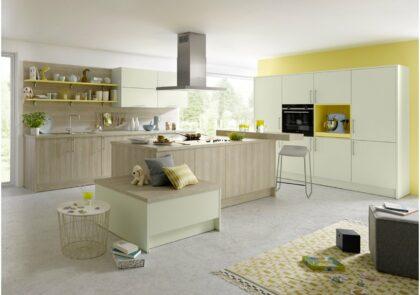Küchenzeile Global 52.170/55.100 in wohnlicher Atmosphäre