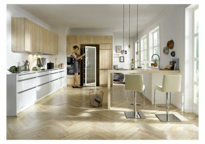 Küchezeilen Global Küche 52.180/51.130 für Genießer mit anspruchsvollen Fronten