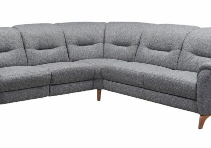 Polsterecke EM Nizza  in grau, Stellfläche ca. 260×285 cm