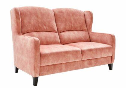 Sofa Marcos – Stoff, rosefarben