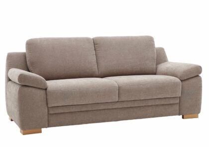 Sofa Tavira – 2,5-Sitzer, Stoff beige,