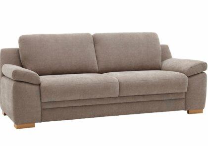 Sofa Tavira – 3-Sitzer, Stoff, beige