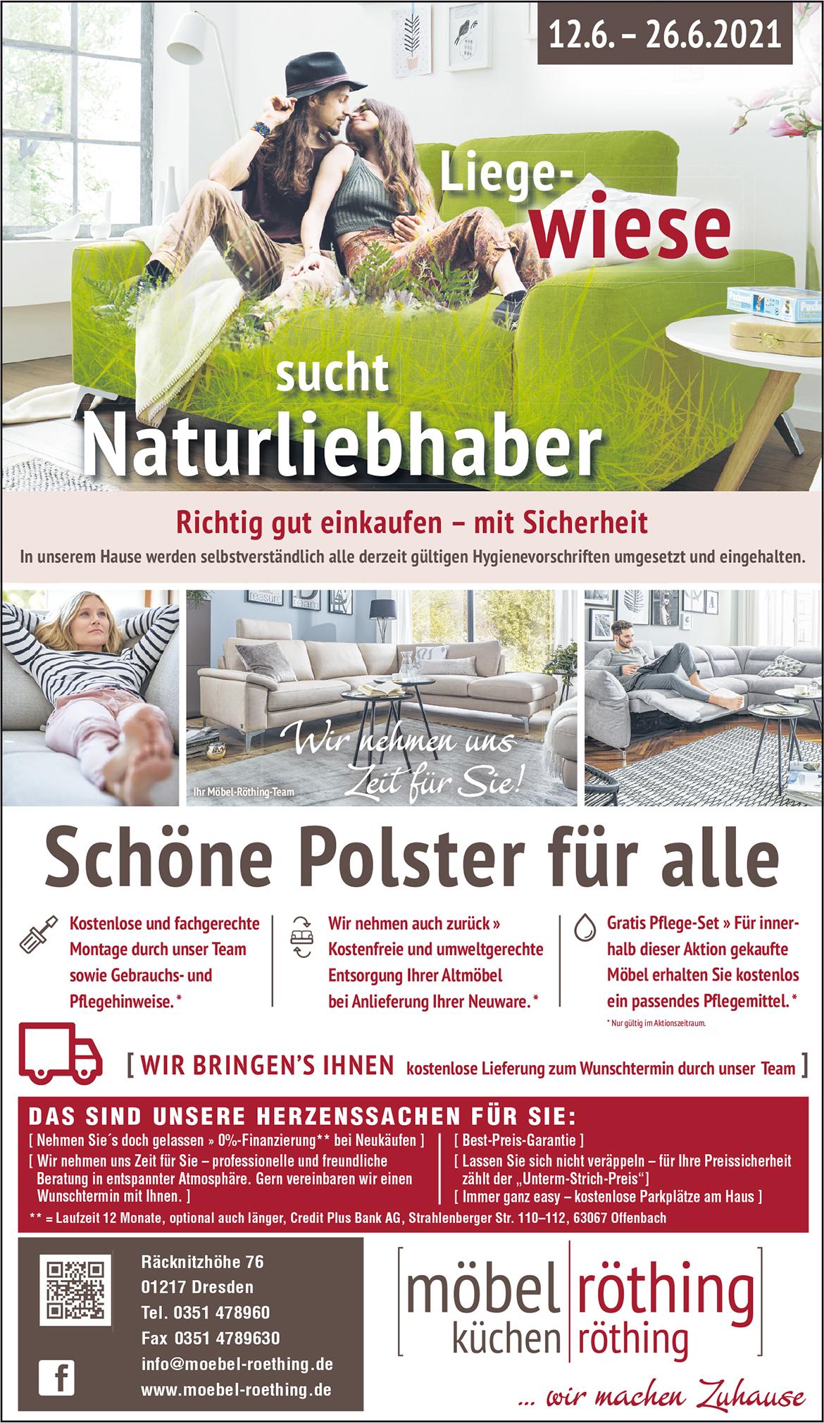 liegewiese2 Möbelhaus Dresden - Möbel Röthing