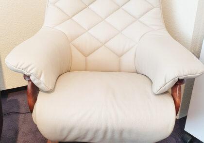Relax-Sessel von Himolla – Modell 7630 – in Leder creme