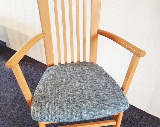 Stuhl Senator 1322 FK blau Möbelhaus Dresden - Möbel Röthing