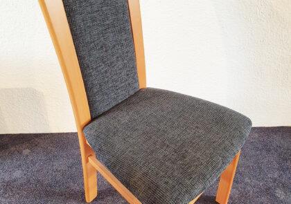 Stuhl von Niehoff – Modell Senator 5311 PS – in Stoff grau
