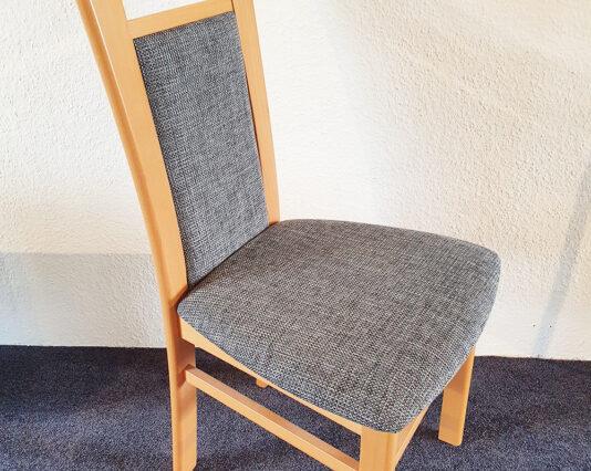 Stuhl Senator 5331 PS grau braun 1 Möbelhaus Dresden - Möbel Röthing