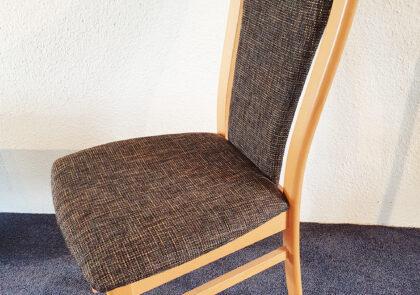 Stuhl von Niehoff – Modell Senator 5461 PS – in Stoff braun