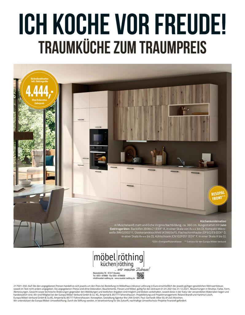 kuechentrends7 Möbelhaus Dresden - Möbel Röthing